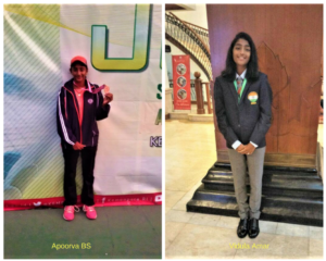5th Asian School Tennis Championship. Bangalore girls Apoorva BS and Vidula Amar make India proud with a bronze medal.