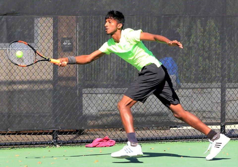 Rishi Reddy-Karnataka`s bright tennis prospect