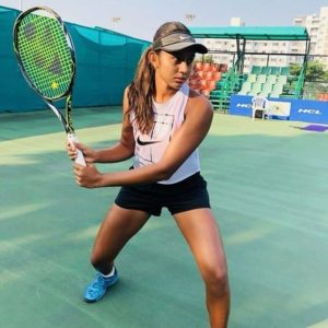 Salsa Aher-India`s rising tennis star