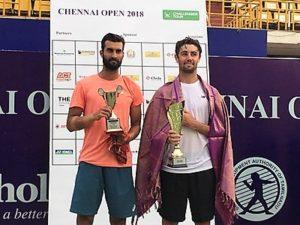 Chennai Challenger 2018- Yuki Bhambri & Jordan Thompson