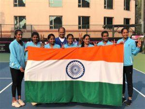 Fed Cup 2018- Ankita Raina played great. Karman Kaur Thandi showed her strong game. Wish India had Sania Mirza.