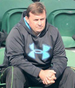 Todd Clarke-tennis director of Ahmedabad Racquet Academy and coach of Zeel Desai
