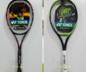 Yonex Tennis Racket-Vcore and Ezone. Stan Wawrinka and Victoria Azarenka