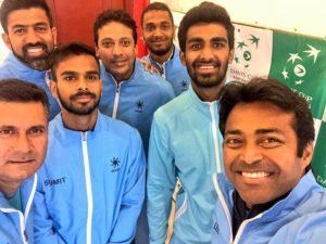 Indian Davis Cup Team 2018