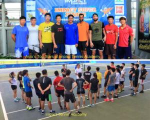 Impact Tennis Academy, Bangkok in Thailand