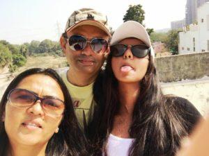 Zeel Desai`s parents