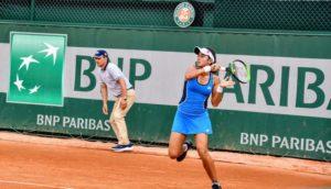 Ankita Raina, French Open 2018