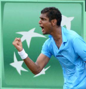 Ramkumar Ramanathan - India vs Serbia Davis Cup