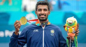 Prajnesh Gunneswaran wins Bronze Medal at the Asian Games 2018