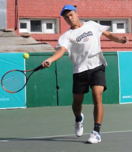 Calvin Golmei-Indian tennis player