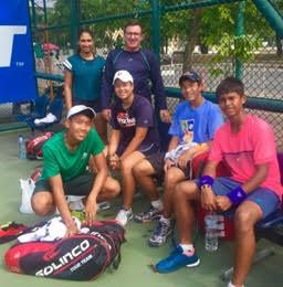 Paul Dale Britannia Amritraj Tennis (BAT) academy
