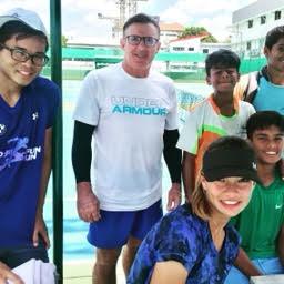Paul Dale coached in Britannia Amritraj Tennis Academy, BAT