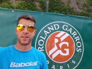Strahinja Jovanovic, coach from Serbia at Harvest Tennis Academy