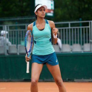 Karman Kaur Thandi - India`s Top Women`s Tennis Player !
